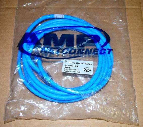 Patch Cord Amp Cat 5e 2,5mts Azul