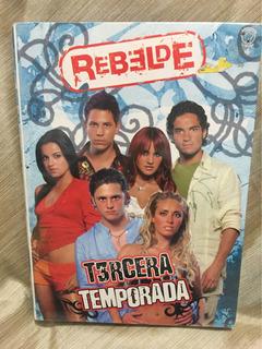 Rebelde Rbd 3a Temporada 4dvds Doble Cara Anahí Mayte