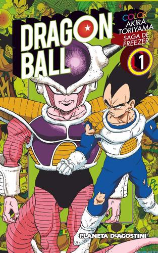 Manga Dragon Ball Color Saga Freezer Tomo 01 - Planeta