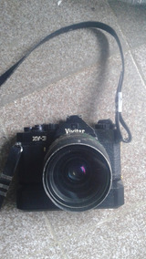 Máquina Vivitar Xv3 Com Lente Pentax 28-80mm