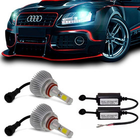 Kit Lampada Led Automotiva Xenon H1 H3 H11 H7 Hb3 Hb4 H27 2d