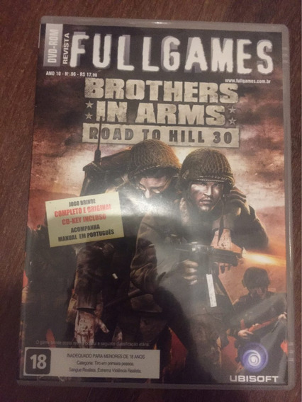 Jogo Para Pc Brothers In Arms