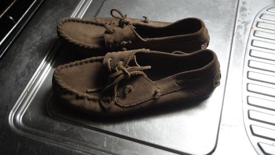 Zapatos Náuticos De Gamuza Talle 40