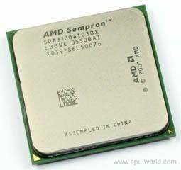 Amd Sempron 64 3100+ 1.8 Ghz Soket 754 Sda3100aio3bx