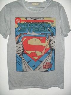 Camisa Super Homen Unissex Tamanho P Geek Pronta Entrega