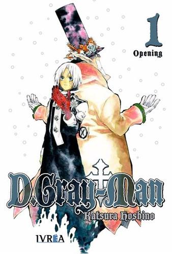 Manga D Grayman Tomo 01 - Ivrea
