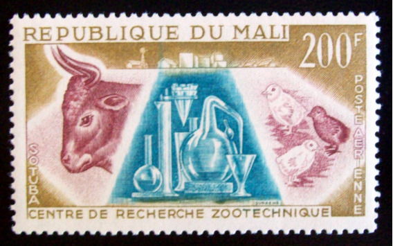 Mali Fauna, Sello Aéreo Yv. 15 Mint L6724