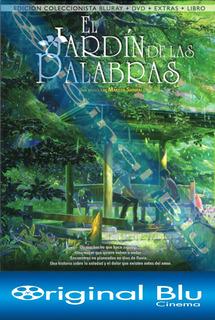 El Jardin De Las Palabras - Blu Ray + Dvd + Libro Originales