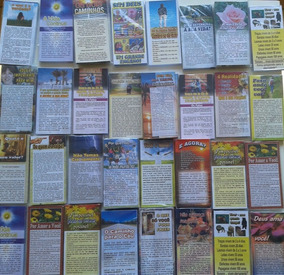 3000 Folhetos P/ Evangelização Temas Variados