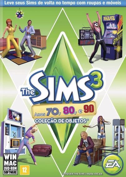 Pacote De Expansão The Sims 3 - Anos 70, 80 E 90