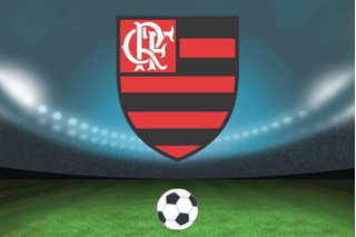 Painel Decorativo Festa [2x1m] Futebol Flamengo (mod17)