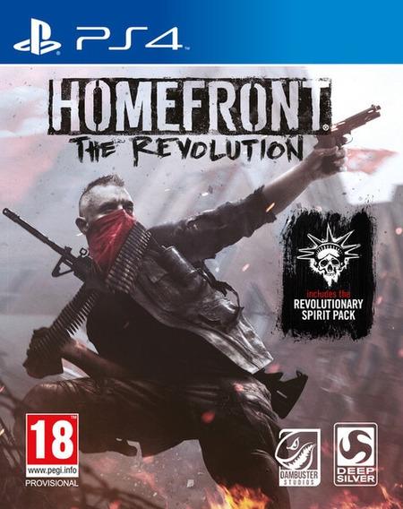 Homefront The Revolution - Ps4 - Mídia Física - Novo