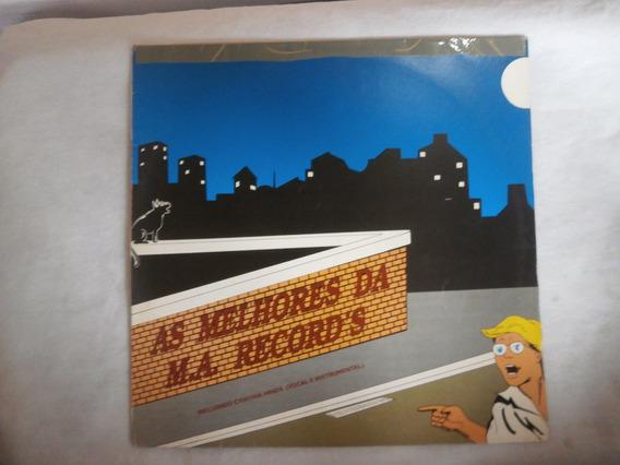 Lp As Melhores Da M.a Records, Disco Vinil Dance, Djs, 1993