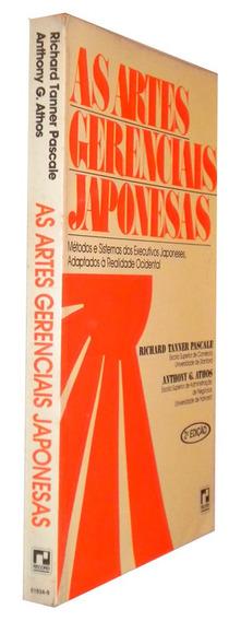 As Artes Gerenciais Japonesas Richard Pascale 1982 Livro /
