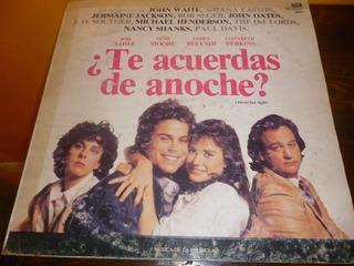 Lp Vinilo - Soundtrack De Te Acuerdas De Anoche? - Unico