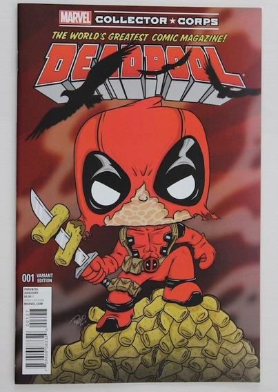Deadpool 01 - Hq Quadrinhos Comic Book - Capa Variante