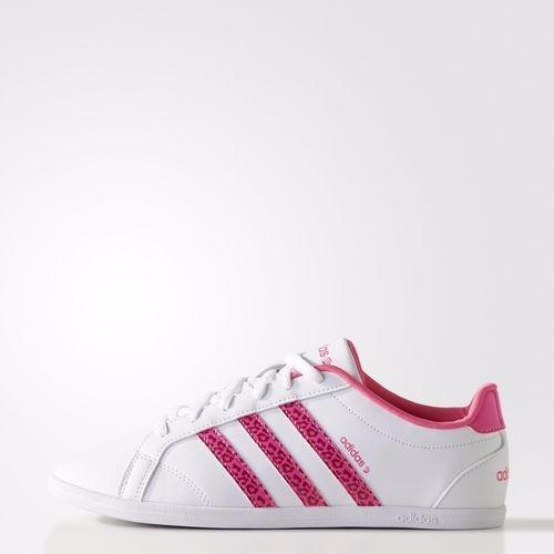 tenis adidas neo rosa