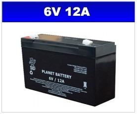 Bateria 6v 12a Haze P/ Moto Elétrica E Outros