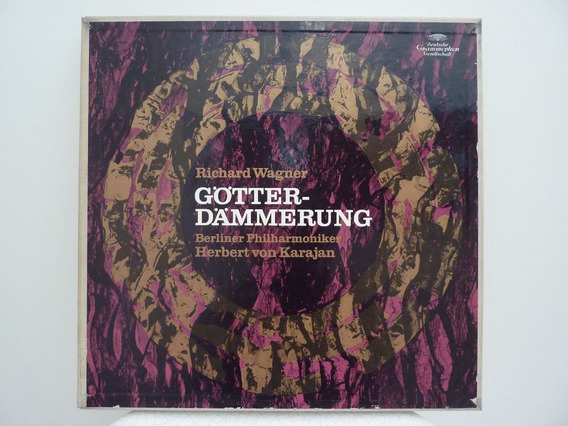 Deutsche Grammophon 6x Lp Box Set: Wagner Gotterdammerung