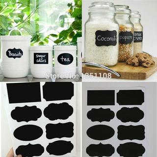 40 Etiquetas Adesivos Cozinha Giz Decorativo