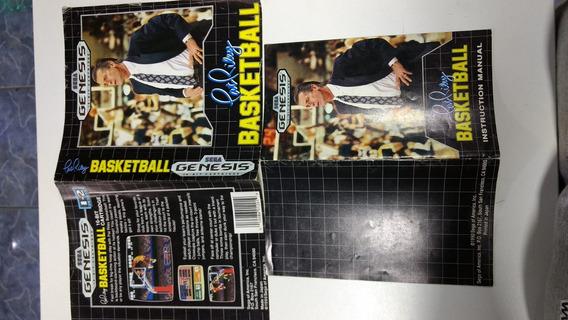 Sega Mega Drive Encarte Capa Jogo Original Pat