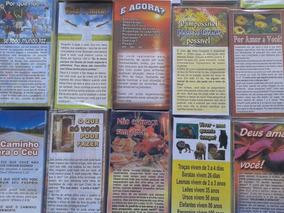 2000 Folhetos P/ Evangelização Temas Variados