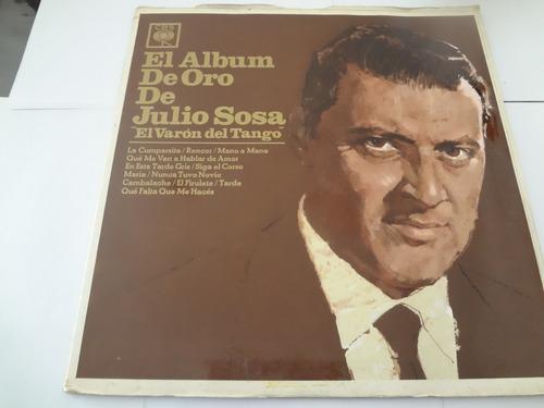Vinilo Julio Sosa Album De Oro