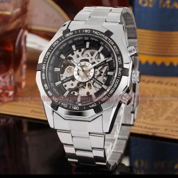 Reloj Automático Winner De Lujo Para Hombre