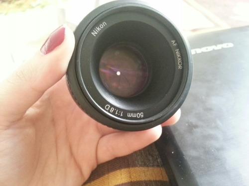 Lente Nikkor 50mm F/1.8d