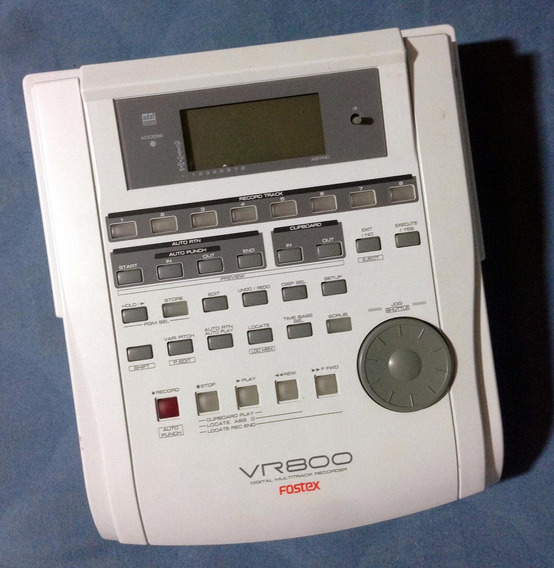 Fostex Vr800 Digital Multitrack Recorder -trocas- Willaudio