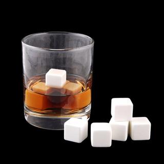 Cubos De Ceramica Enfriadores De Bebidas C/4 Piezas