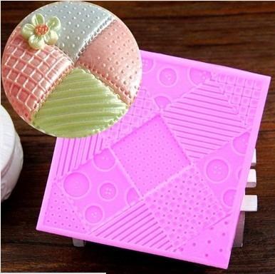 Molde Silicona Textura Texturador Marcado Fondant Reposteria