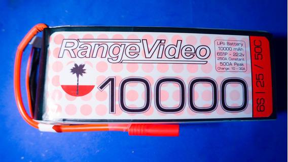 Bateria Lipo 6s 10.000 Mah 50c Nova