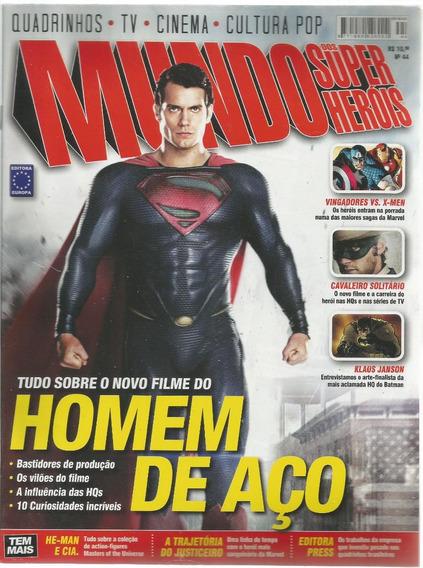 Mundo Dos Super-herois 44 Europa - Bonellihq Cx99 H19