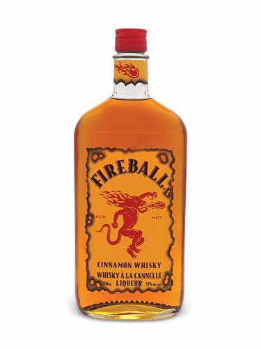 Imagen 1 de 6 de Licor Fireball 1000ml Cinnamon Whisky Origen Canadá
