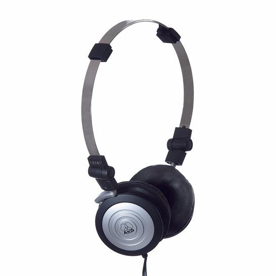 Fone De Ouvido Headphone Akg K414p Prof. Banda Original