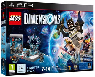 Lego Dimensions Starter Pack Playstation 3 Nuevo