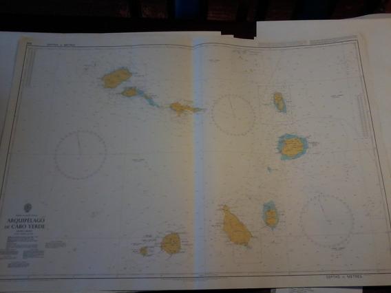 Carta Nautica Cabo Verde Africa