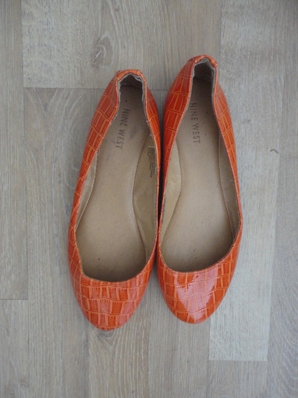 Chatitas Naranjas Nine West