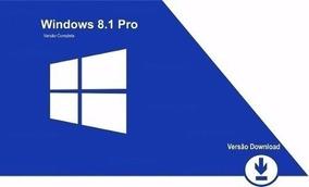 Windows 8.1 Pro - 5 Pc - Atualização Gratuita P/windows 10