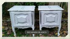 Restauración De Muebles / Decapado, Patinas, Tapizado