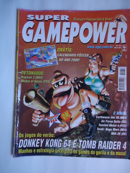 Super Gamepower Nº 70 - Rayman 2 , Medal Of Honor