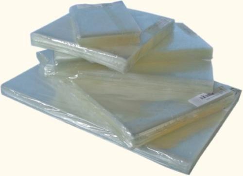 185 Saco Plástico Pp Transparente 15x20cm S/ Aba P/ Cd E Dvd