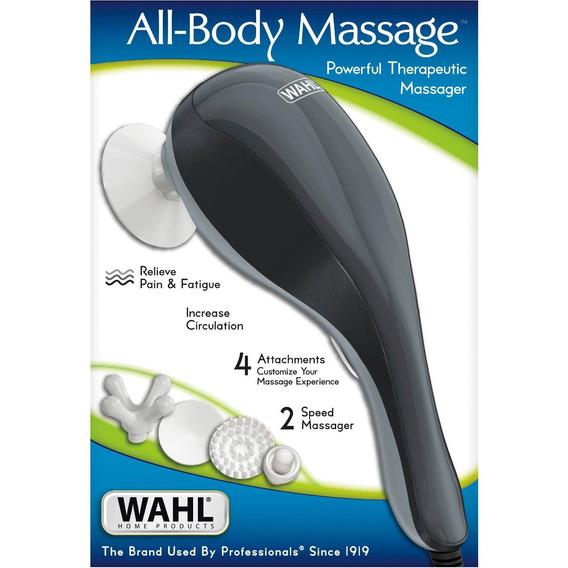 Masajeador Terapeutico Para Todo El Cuerpo Wahl Ergonomico