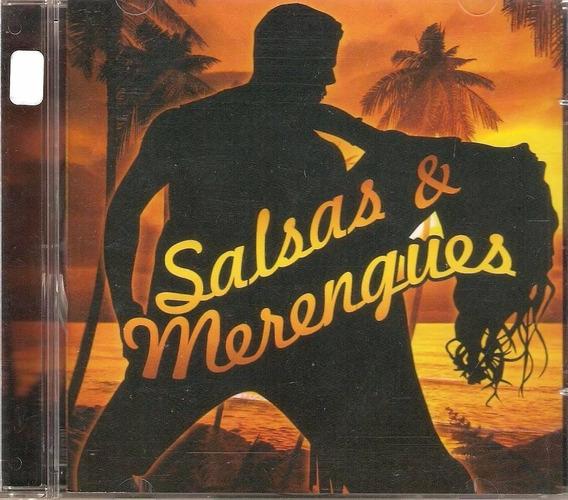 Cd Salsas E Merengues - Diversos Original E Lacrado