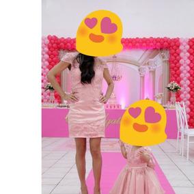 Vestido Mae E Filha De Festa
