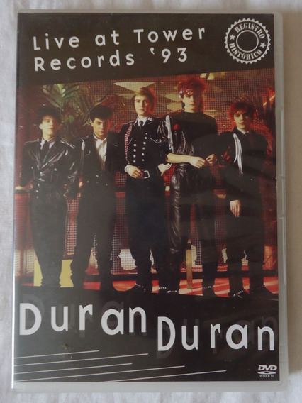 Dvd Duran Duran - Live At Tower Records 93