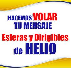 Globos De Helio Y Dirigibles, Esferas Helio