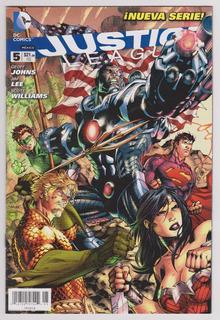 Justice League # 5 - Editorial Televisa