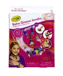 Crayola Joyería Boutique Retro Groove Theme Pack